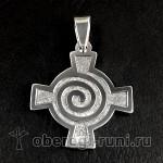 Кельтский крест (спираль)