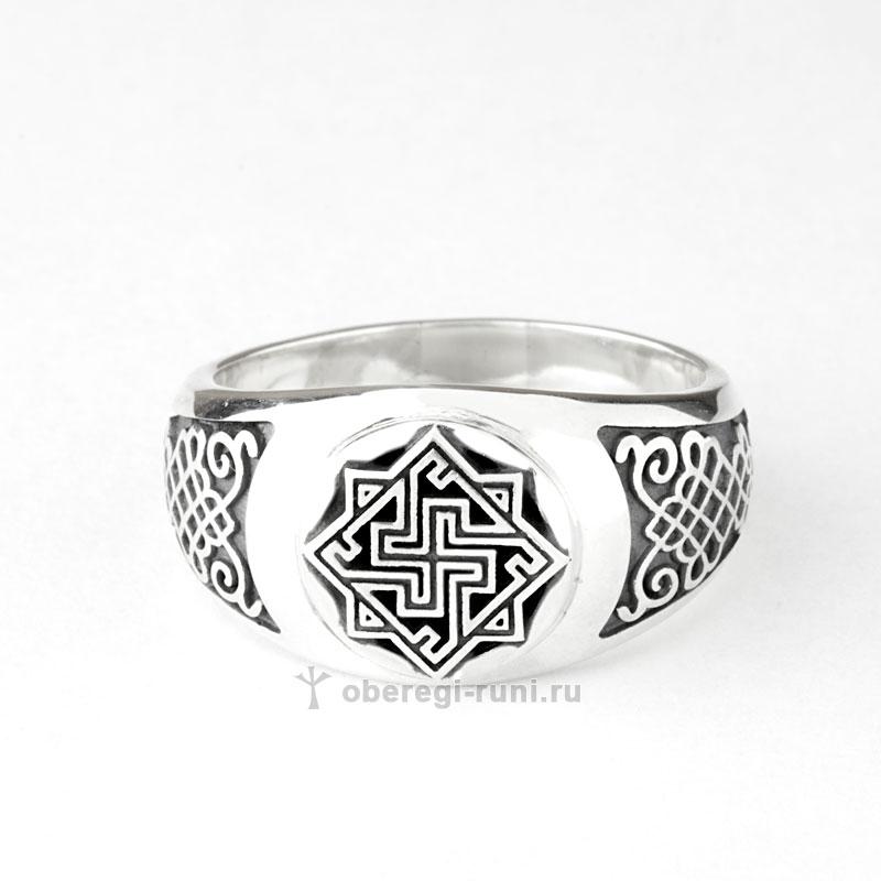 кольцо свалькирия из серебра