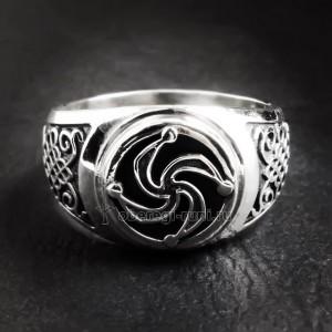Перстень с символом Рода