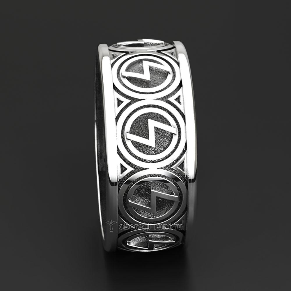 Кольцо Перуница. Серебро