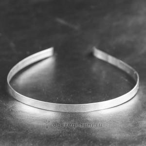 серебряный ободок 925