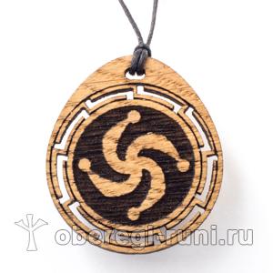 символ рода из дуба