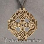 деревянный кельтский крест