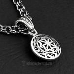 Малый славянский оберег Молвинец из серебра и золота