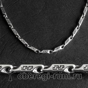 Серебряные цепочки и браслеты СВА