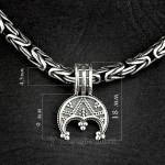 реплика лунницы серебро