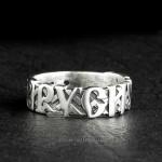 Кольцо Русич из серебра или золота
