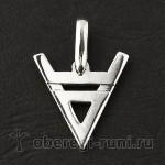Оберег символ Велеса (Волоса)