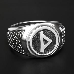 Кольцо с руной Турисаз (Руна Тора, Шип)