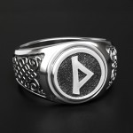 Кольцо с руной Турисаз (Руна Тора, Шип). Серебро