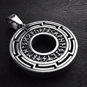 Медальон Рунический круг