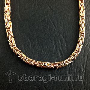 Византийская цепь из золота