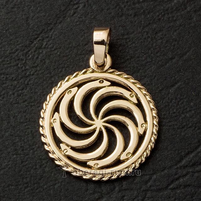 Змеевик из золота