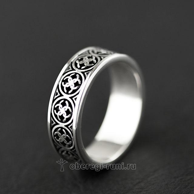 обручальное кольцо со свадебниками