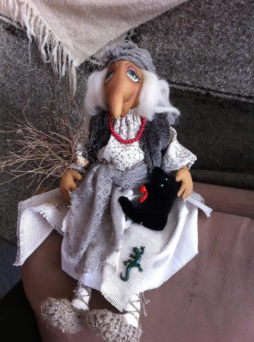 кукла баба чга