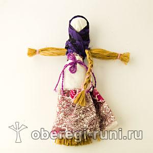 славянская обрядовая кукла Кострома
