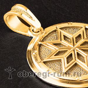 Алатырь богатырский из золота