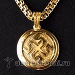 Боговник - богатырский оберег из золота