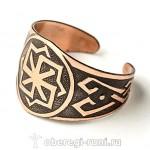 кольцо молвинец из меди