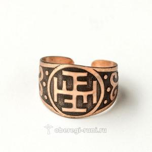 медное кольцо с ратиборцем