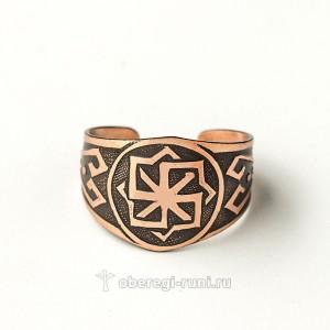 кольцо с молвинцем