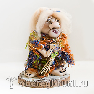 Баба Яга (авторская кукла)