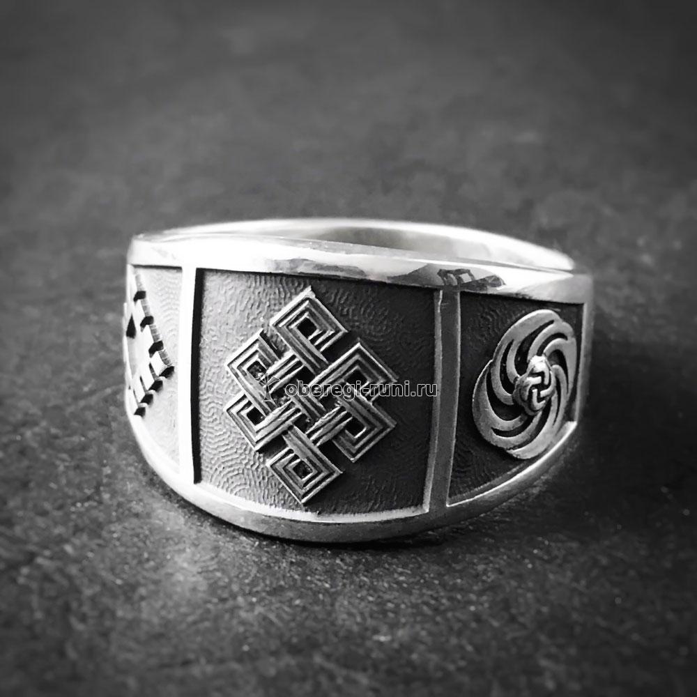 Кольцо Узел долголетия