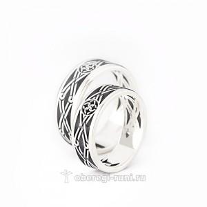 славяское обручальное кольцо