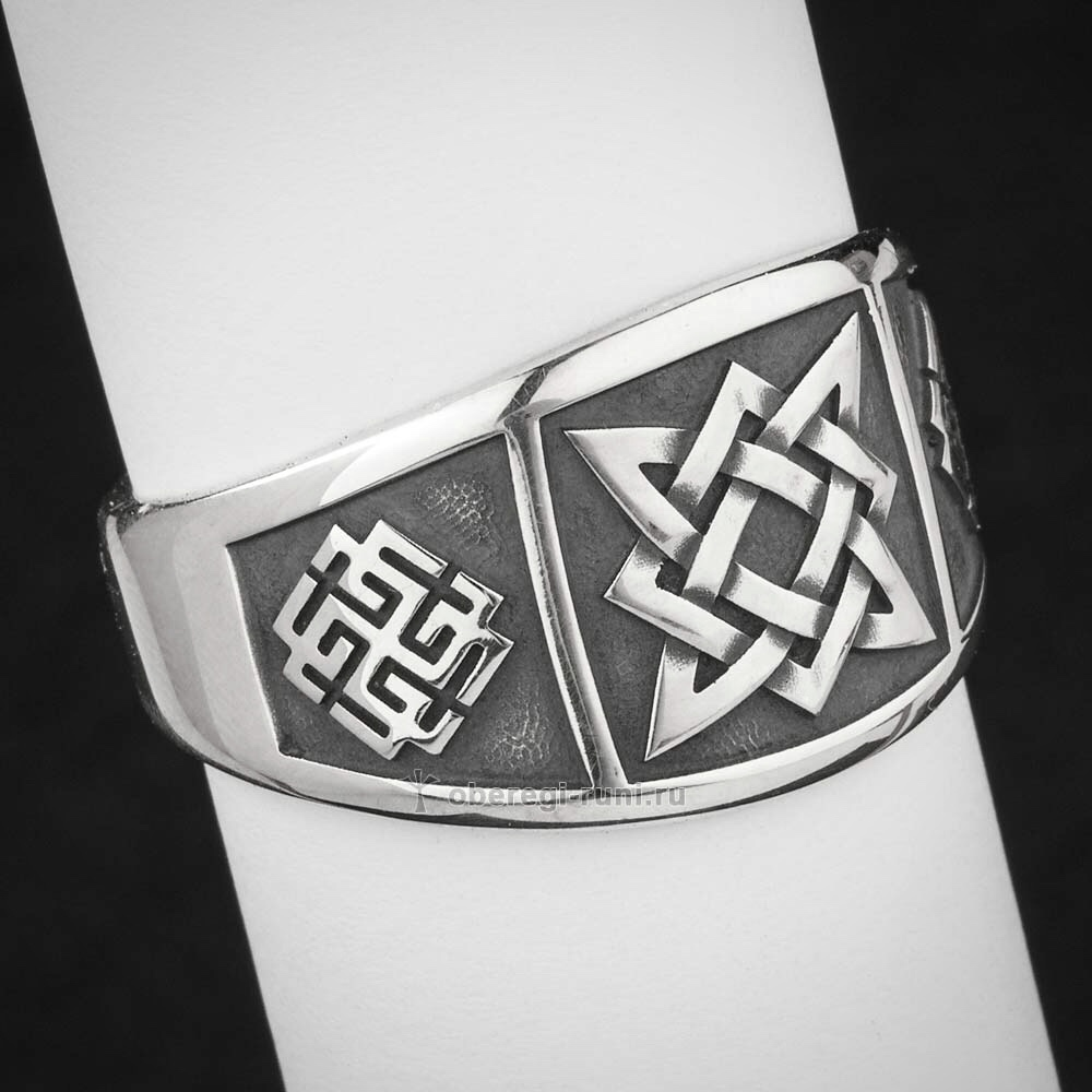 Кольцо Звезда Руси (Квадрат Сварога), Сварожич и Родимич