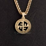Небесный крест из золота