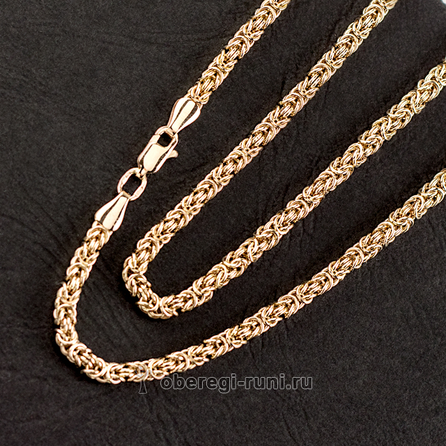 Византия - Золотая цепь ручной работы