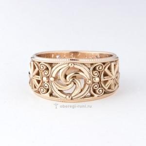 кольцо обрег золото
