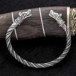 браслет скандинавский из серебра
