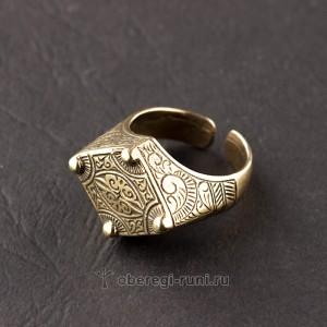 кольцо от сглаза из латуни