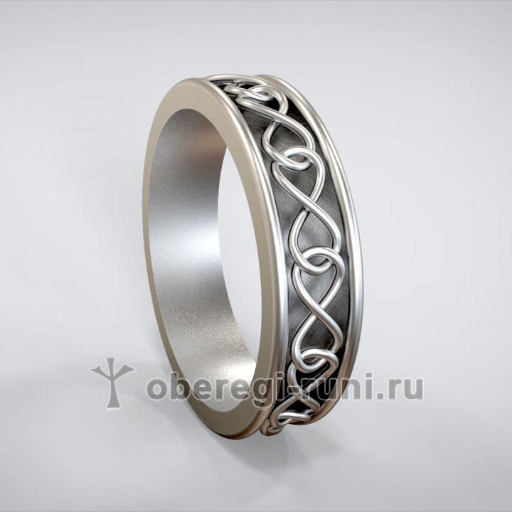 Кольцо символ бесконечности
